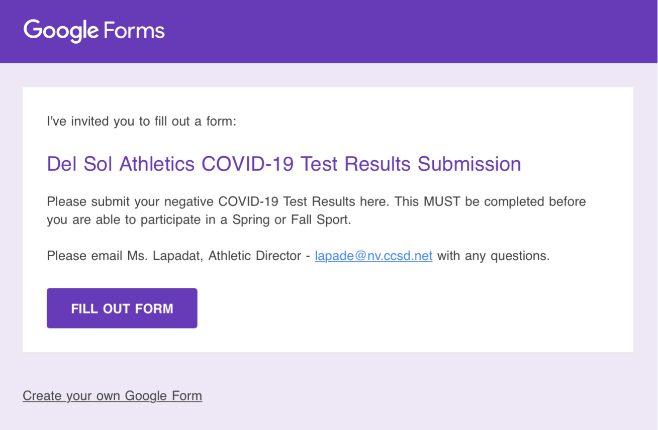 Submitting COVID-19 Test Results