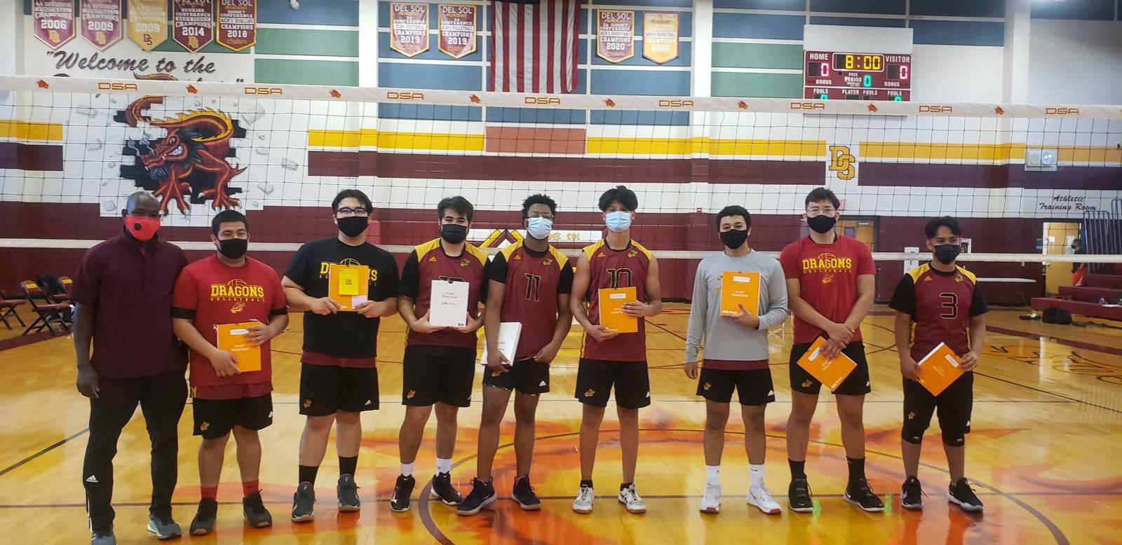 Boy's Volleyball Spring 2021