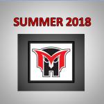 2018 Summer at MHHS