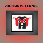 2018 Girls Tennis