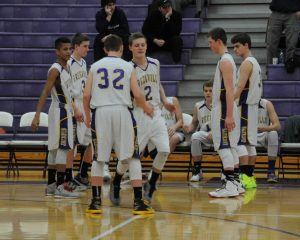 JV boys basketball vs. Wyoming 2/9/15