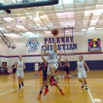 Girl's Varsity Basketball Remains Undefeated in Conference