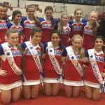 Lady Eagles Cheer Advances to Regionals