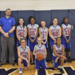 Girls 7th Grade Basketball beats Plymouth Christian Academy 17 – 16