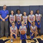 Girls 7th Grade Basketball beats Plymouth Christian Academy 17 – 16