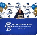 Hard work pays off – Nathalie Ferry signs with Cornerstone University