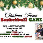 Christmas Theme – Boys Basketball Game