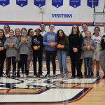 Middle School Girls Basketball Appreciation Night