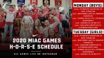 MIAC Games Start Today