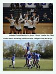 Volleyball and Football District Semifinals This Week