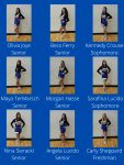 Varsity Competitive Cheer Roster 2021