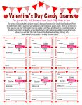 Candy Grams for Valentine's Day