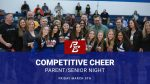 Competitive Cheer Parent Night March 5th