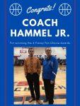 Coach Steve Hammel, Jr Wins 4Frenzy Fan Choice Awards