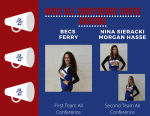 Congratulations to Competitive Cheer MIAC Conference Award Winners