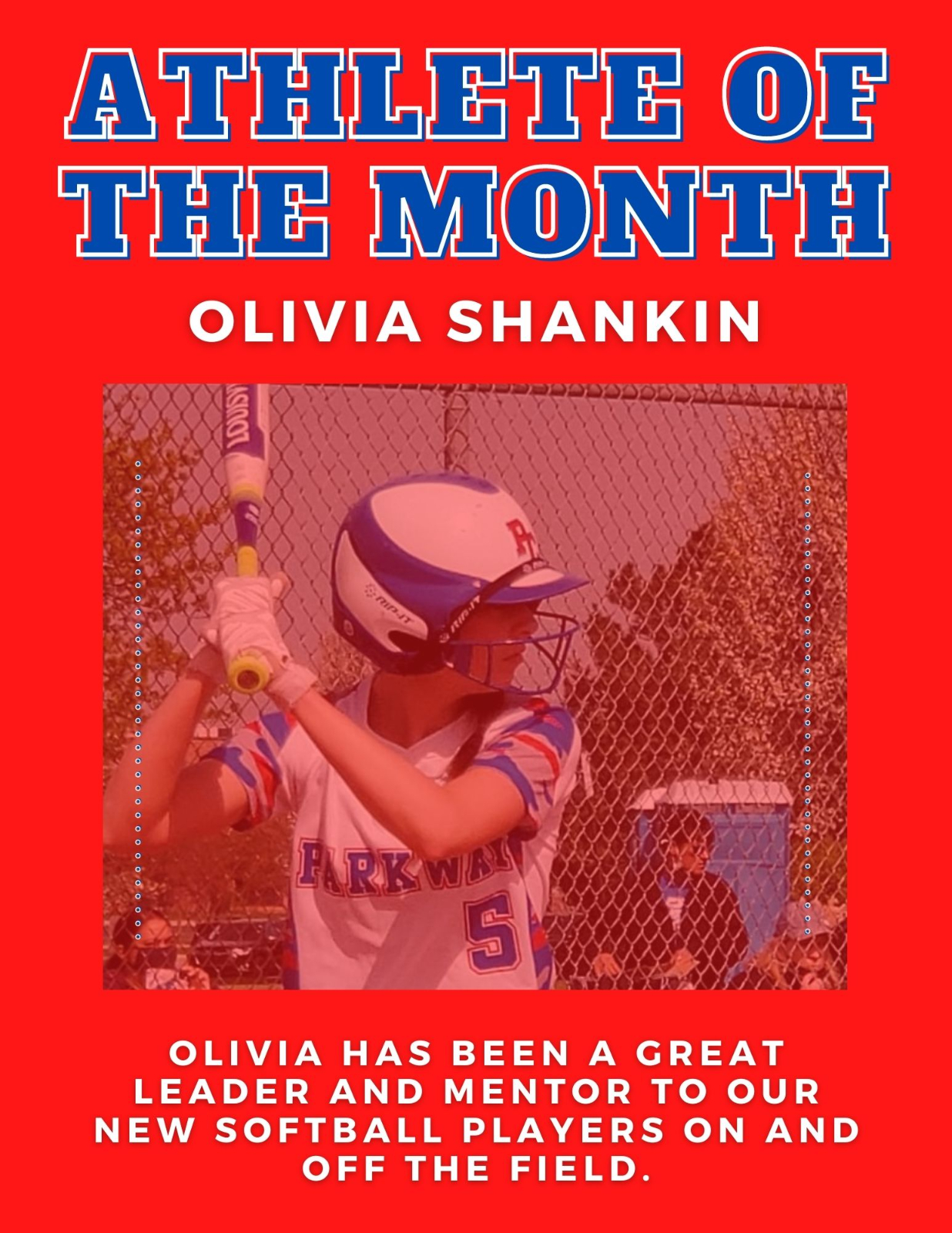 April Athletes of the Month