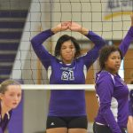 Campbellsville High School girls' varsity volleyball falls to Bardstown High School 0-2