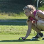 Campbellsville High School girls' varsity golf team beats Nelson County High School 194-236