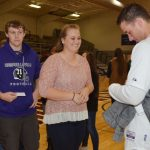 CHS student athletes hear MLB star talk about servant leadership