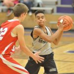CHS freshmen boys' basketball team battles Nelson County in season opener