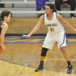 Campbellsville High School girls' varsity basketball falls to Caverna 49-65