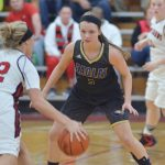 CHS girls' varsity basketball team drops close game