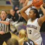 CHS girls' basketball teams battle Spencer County