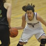 CHS girls' varsity basketball team takes on Green County