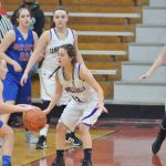 CHS girls' freshmen basketball team competes in district tournament