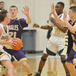 CHS boys' basketball team battles Green County