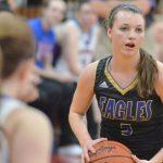 CHS girls' varsity basketball team battles Adair County