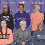 CHS girls' basketball players receive awards