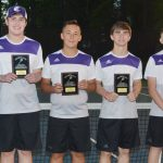CHS tennis teams compete in Heartland Conference tournament