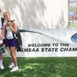 CHS tennis duo plays at state tournament