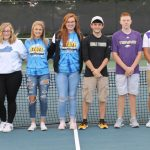CHS tennis players honored at banquet