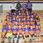 About 40 participate in 'Hoop It Up' basketball camp