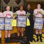 CHS senior volleyball players honored
