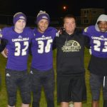 CHS senior football players honored