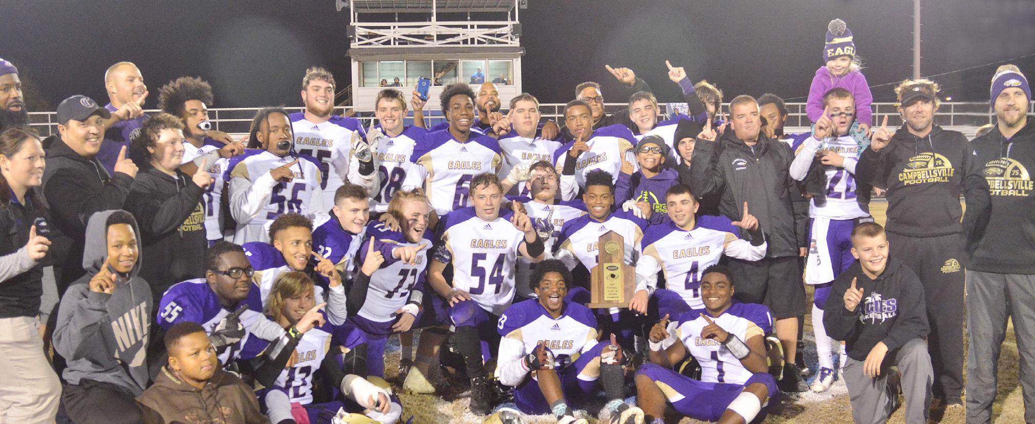 CHS football team wins region championship