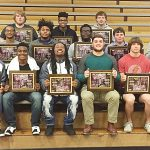 CHS football players honored