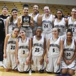 CHS girls' JV basketball team wins District tournament