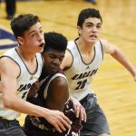 CHS boys' basketball freshman team takes on Marion County
