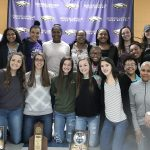 CHS girls' basketball players honored