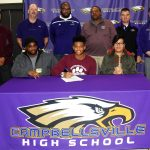 CHS football player to attend CU