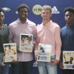CHS boys' basketball players honored