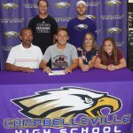 CHS graduate to play tennis at CU