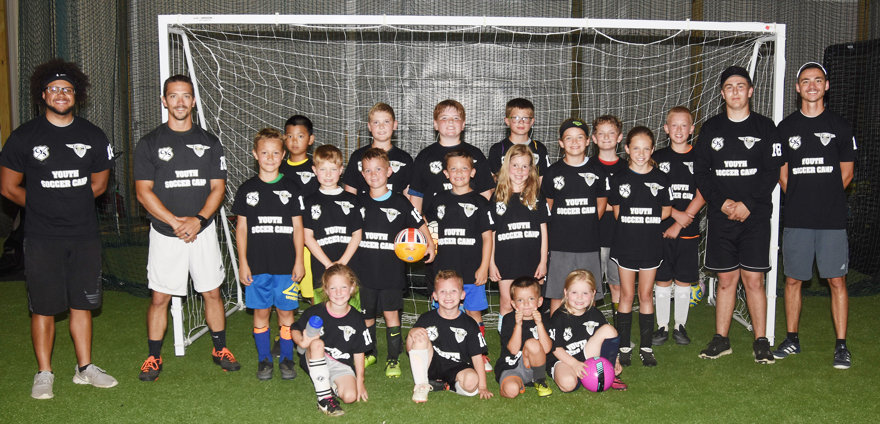 CHS soccer team hosts first summer camp