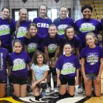 CHS Volleyball Camp - July 16, 17 and 19, 2018