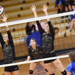 CHS volleyball team takes on LaRue County