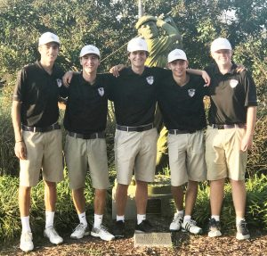 CHS Boys' Golf KHSAA Tournament – Oct. 5, 2018